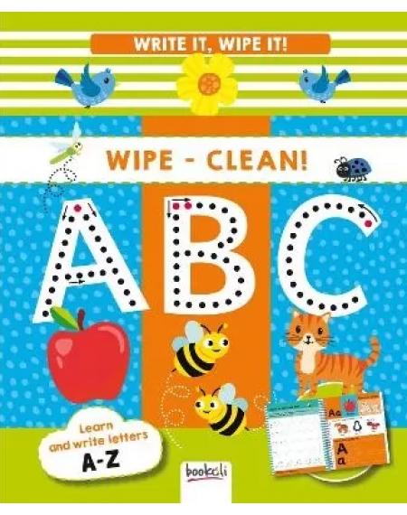 Write It, Wipe It Spiral : ABC