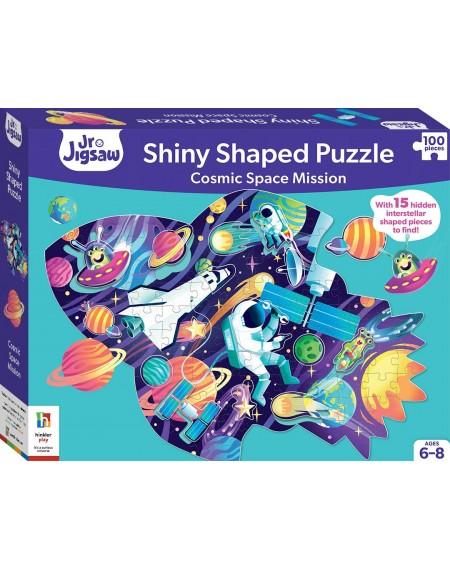 Shinny Shaped Puzzle : Spaceship 100 Jigsaw