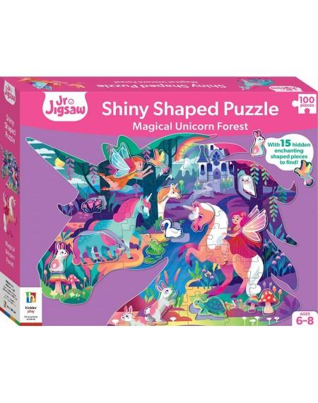 Shinny Shaped Puzzle : Unicorn 100 Jigsaw