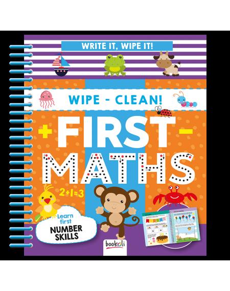 Write It, Wipe It Spiral : First Maths