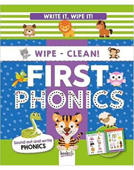 Write It, Wipe It Spiral : First Phonics