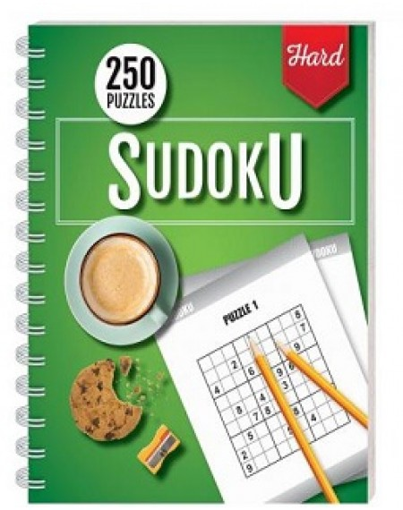 Temporarily out of stock: 250 Puzzles : Sudoku Hard (Spiral Bound)