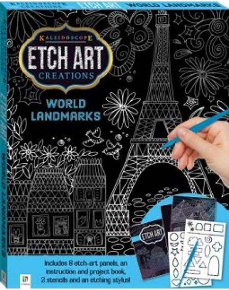 Etch Art Mini Kit : World Landmarks