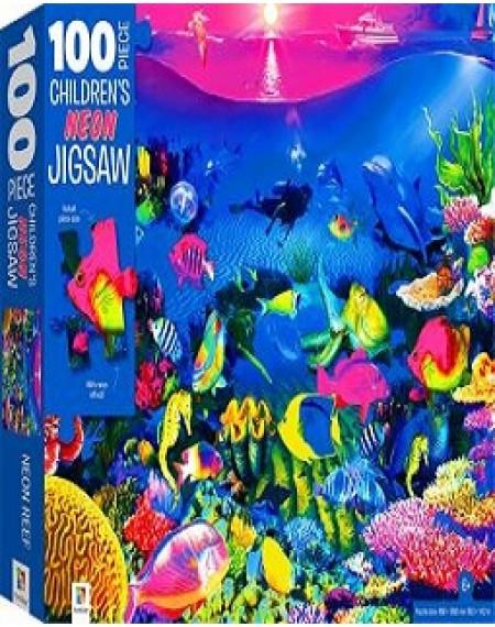 100 Piece Children's Jigsaw With Treatments : Reef