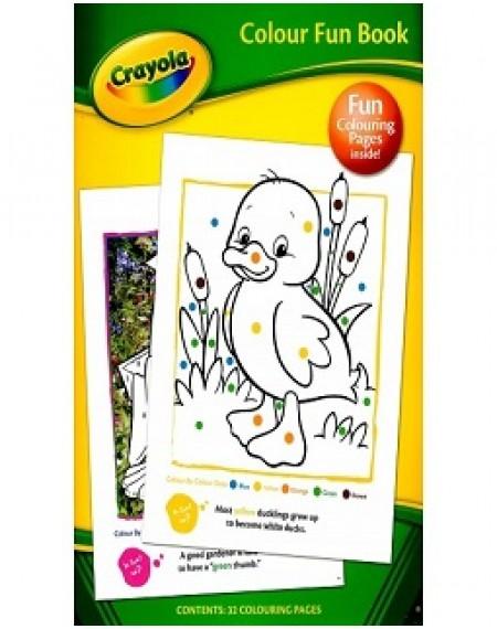 Crayola Colour Fun Book