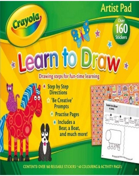 Crayola Artist Pad ( Learn To Draw)