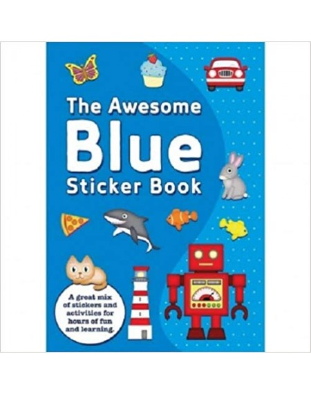 Awesome Blue Sticker Book