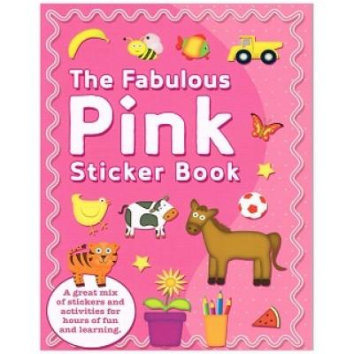 Fabulous Pink Sticker Book