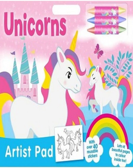 Artist Pad: Unicorns