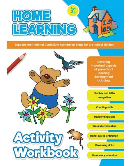 Home Learning Activity Book Age 3+
