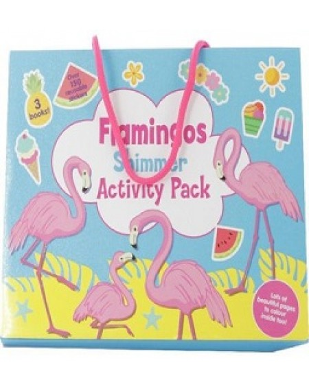 Flamingo Shimmer Activity Pack