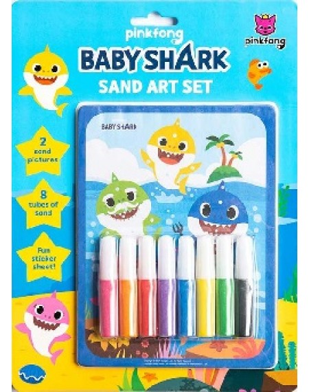 Baby Shark Sand Art Set