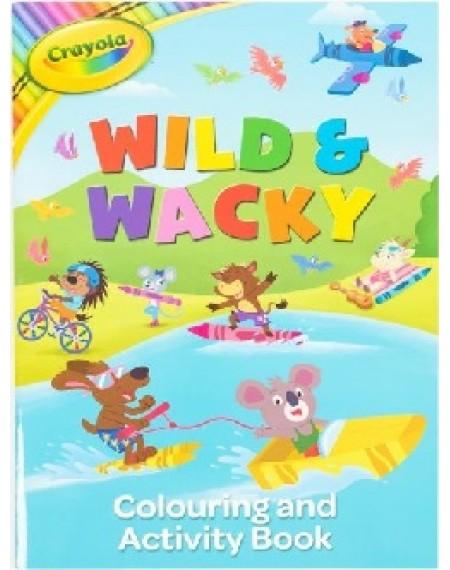 Crayola Wild & Wacky Colour & Activity Book