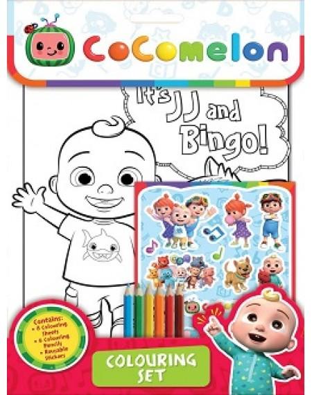 Cocomelon : Colouring Set