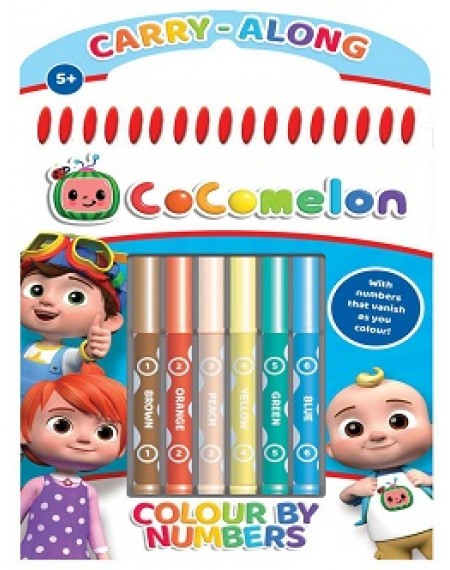 Cocomelon : Colour By Numbers