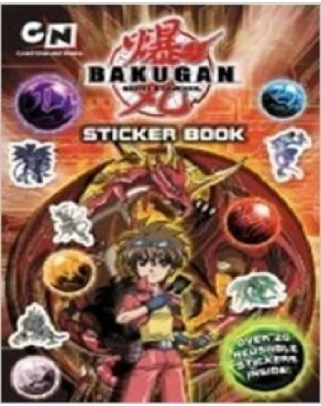 Bakugan Sticker Book