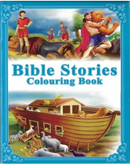 Bible Stories Colouring Book (New)