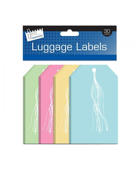 30 Luggage Labels