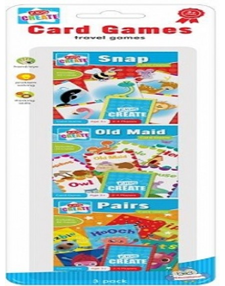 Let's Play Card Games : Pairs, Snap & Old Maid ( In a Pack)