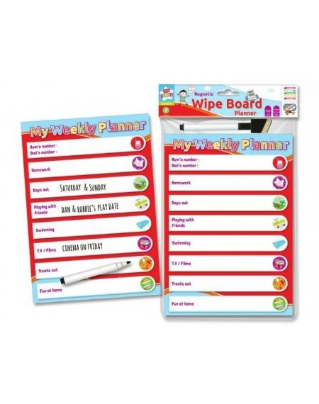 Magnetic Wipe Board Planner : My Weekly Planner