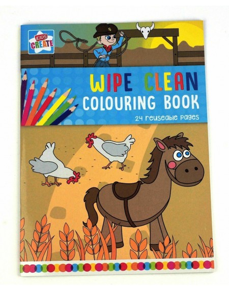 Colouring Wipe-Clean Book