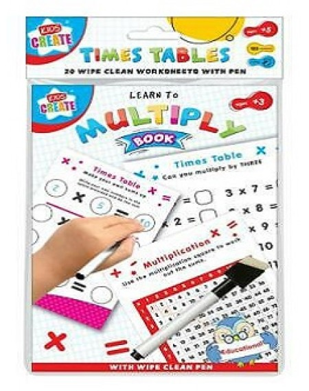 Education - A5 Wipe Clean Bk T Table