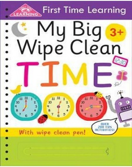 First Time Learning : My First Big Wipe Clean Time