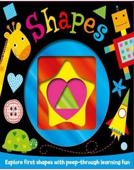Foiled Board Book : My First Shapes