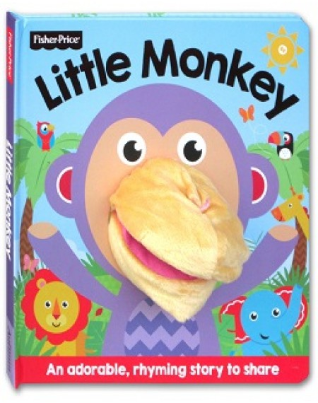 Fisher Price Hand Puppet Fun : Little Monkey