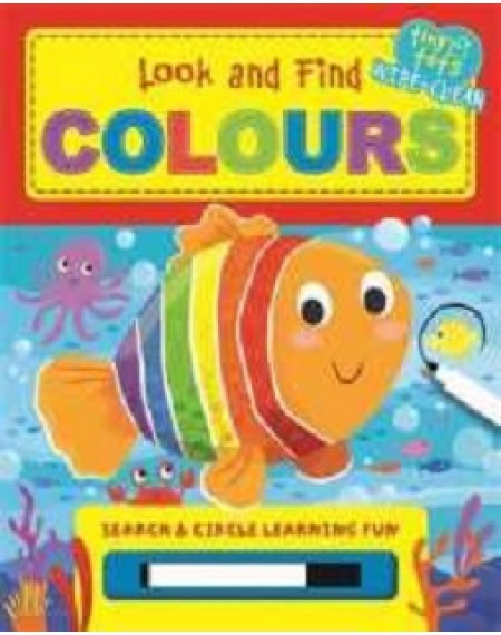 Look and Find Colours Tiny-Tots Wipe Clean