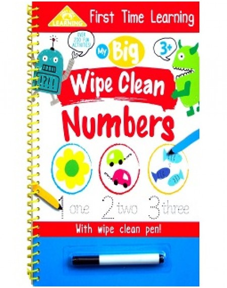 First Time Learning: My Big Wipe Clean Numbers
