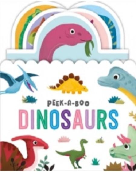 Amazing World Sliding Tab : Peek-A-Boo Dinosaurs