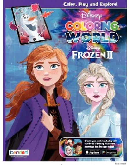 Disney Coloring World Coloring & Activity Book : Frozen 2