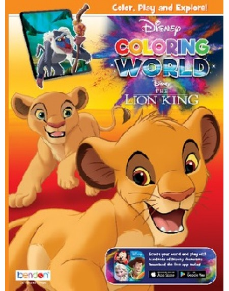 Disney Coloring World Coloring & Activity Book : Lion King