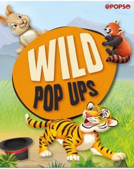 Large Padded Pop Up : Wild