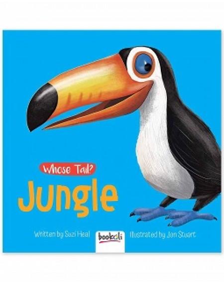 Board Book: Whose Tail ? Jungle