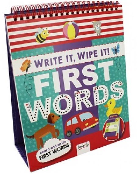 First Words Write It, Wipe It !