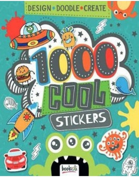 1001 Cool Stickers