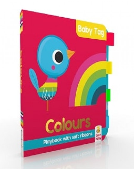 Baby Tag Book: Colours