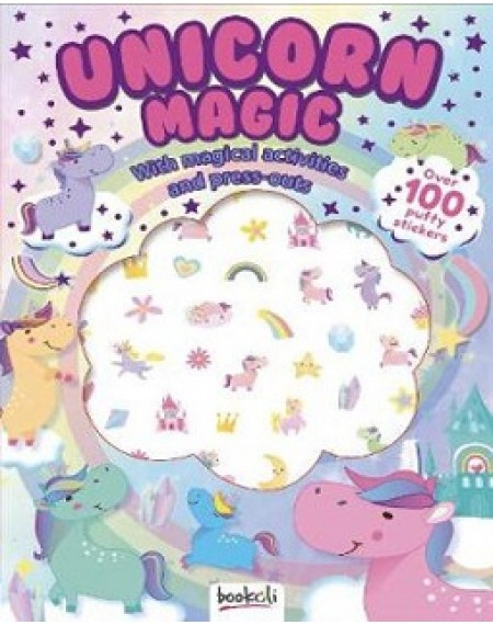 Puffy Sticker Windows: Unicorn Magic