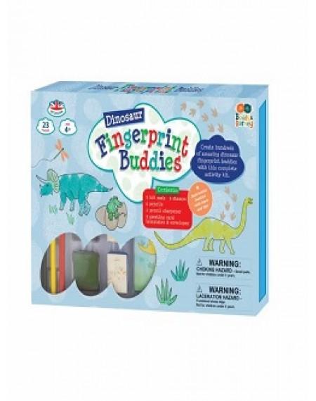 Fingerprint Buddies – single drawer Dinosaurs