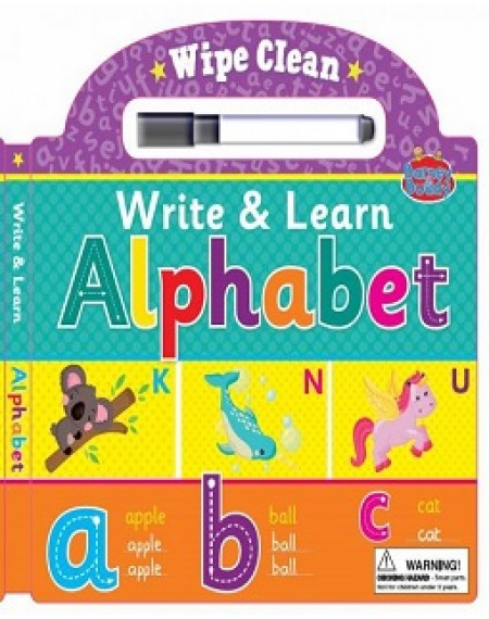 Alphabet Wipe Clean Book BB115