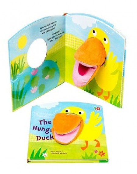 Hand Puppet Book: The Hungry Duck