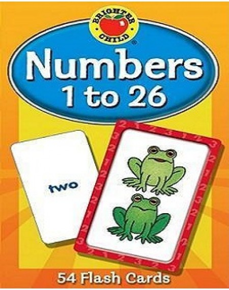 Brighter Child® Numbers 1 to 26 Flash Cards