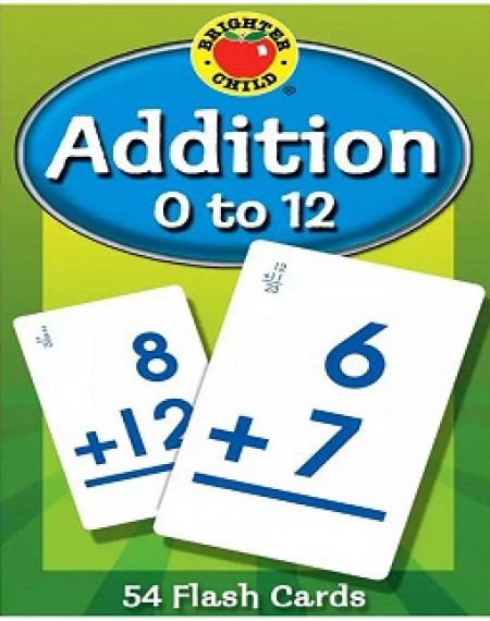 Brighter Child® Addition 0 to 12 Flash Cards
