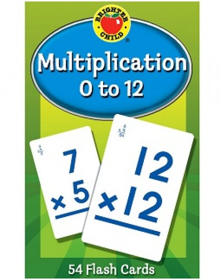 Brighter Child® Multiplication 0 to 12 Flash Cards