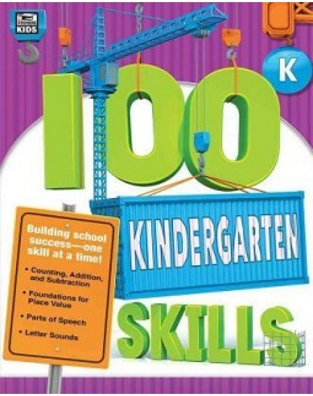 100 Kindergarten Skills Book