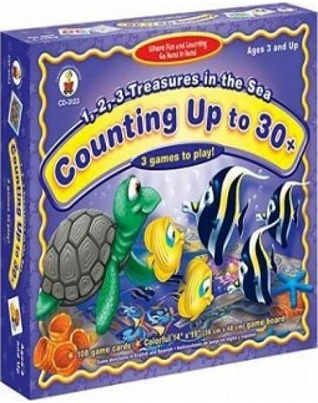 Board Game : 1,2,3 Treasures in the Sea