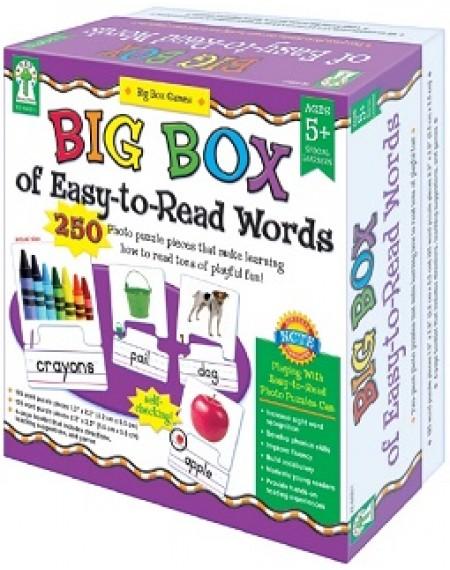 Board Game : Big Box Of Easy To Read Words