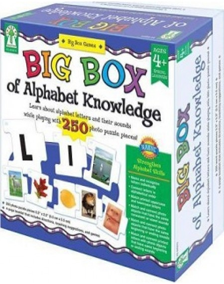 Board Game : Big Box Of Alphabet Knowledge